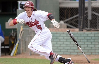 Chico State baseball player Austin Prott.