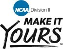 "NCAA Division II ""Make It Yours"" logo."